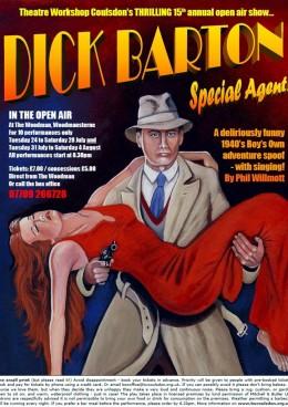 Dick barton flyer