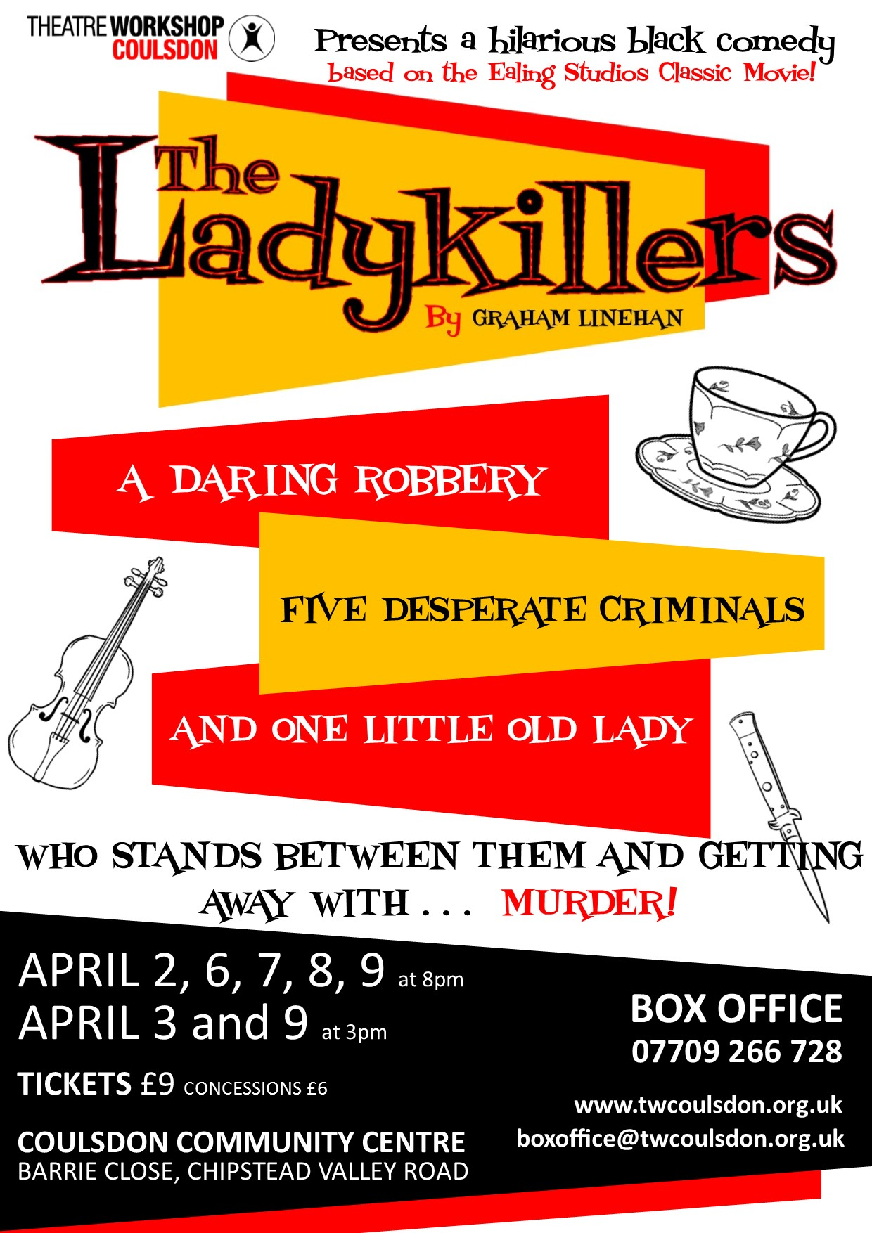 Ladykillers Poster On-line Version